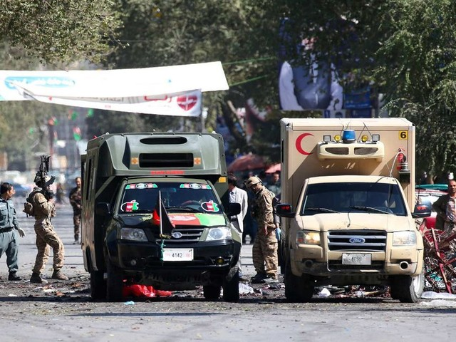 Afghanistan : en pleine campagne électorale, au moins 48 morts dans deux attentats