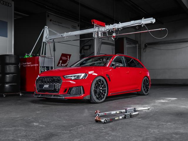 ABT RS4+ : l'Audi RS4 en version de 530 ch !