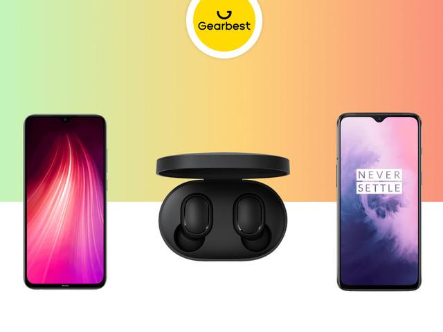 Redmi Note 8 à 170 euros, Redmi AirDots à 15 euros et OnePlus 7 256 Go à 361 euros