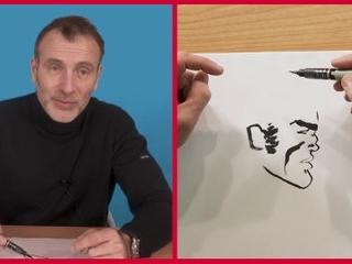 Comment dessiner Blueberry, la leçon de dessin de Christophe Blain