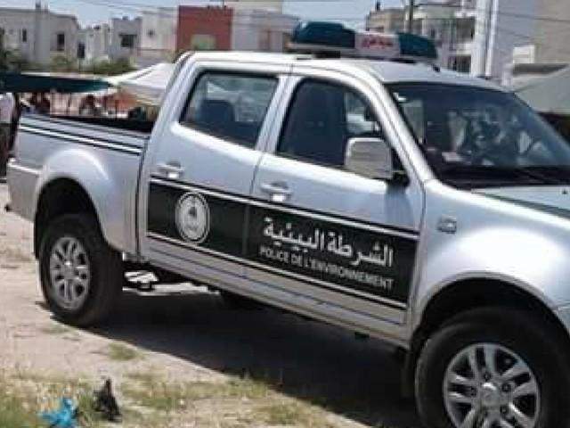 La police de l'environnement a dressé près de 350 amendes en moins d'un mois rien qu'au niveau de la municipalité de Tunis