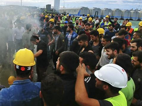 Turquie. Retour sur la grève dans le chantier du nouvel aéroport d'Istanbul
