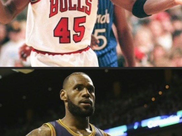 NBA: LeBron James/Michael Jordan, l'éternel et insoluble débat