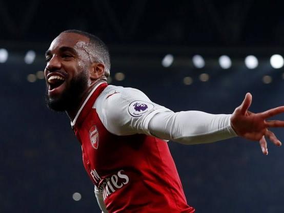 Foot - ANG - Arsenal - Alexandre Lacazette entre dans l'histoire d'Arsenal contre West Bromwich