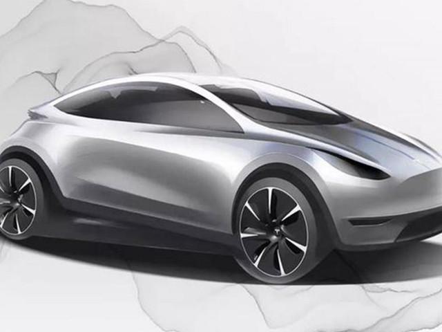 Bientôt une petite Tesla Model 3 ?