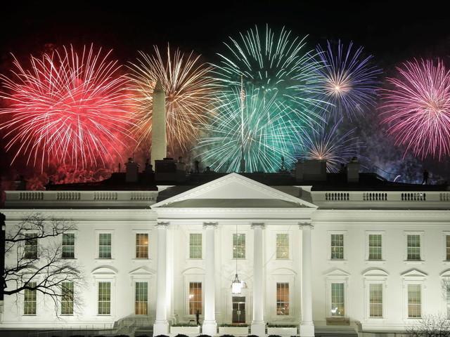 Musique et feux d'artifice à Washington pour célébrer l'investiture de Joe Biden