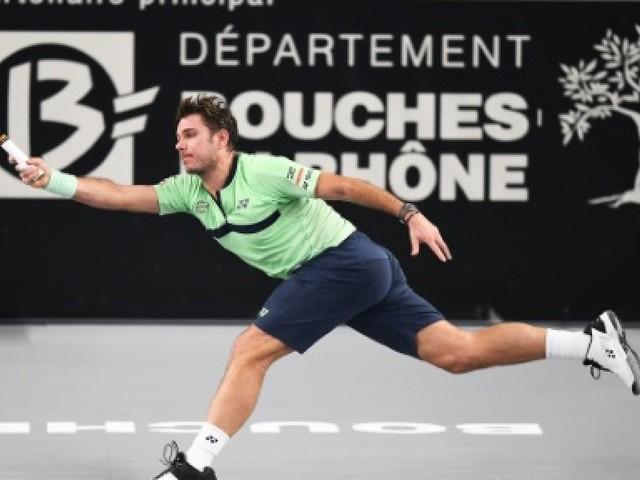 Tennis: Wawrinka abandonne dès son premier match à Marseille