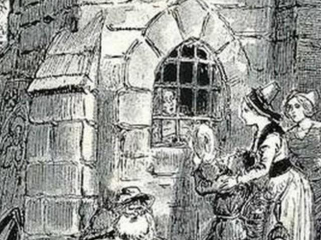 Alix La Burgotte dans son trou à rats !