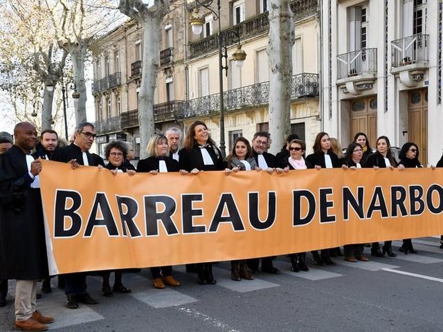 Les policiers audois et les avocats narbonnais se joignent à la journée du 5 décembre