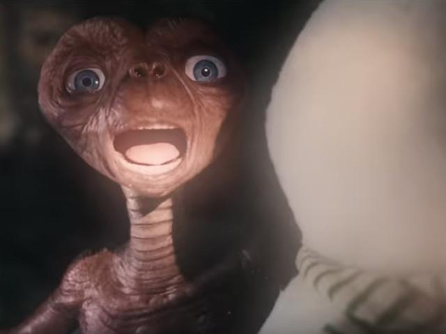 37 ans plus tard, E.T. est de retour sur Terre