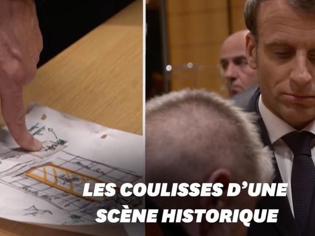 Macron à Notre-Dame: les images inédites du choix du président pendant l'incendie