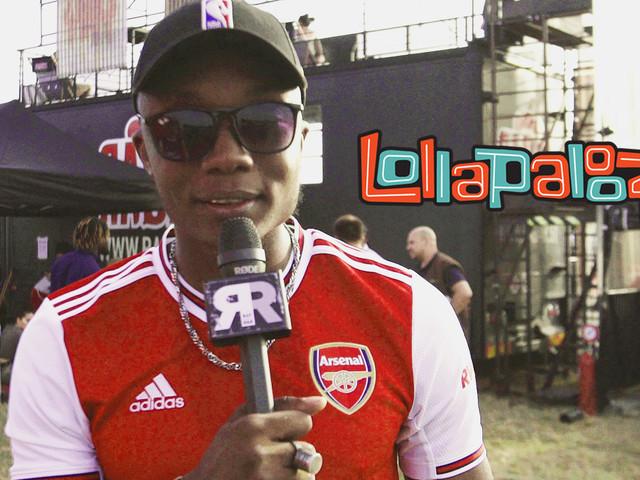 ZeGuerre : dans les coulisses de son show à Lollapalooza [Vidéo]