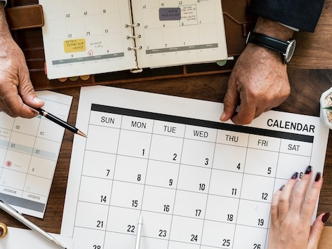 Horaires et paiements de fin d'année 2019
