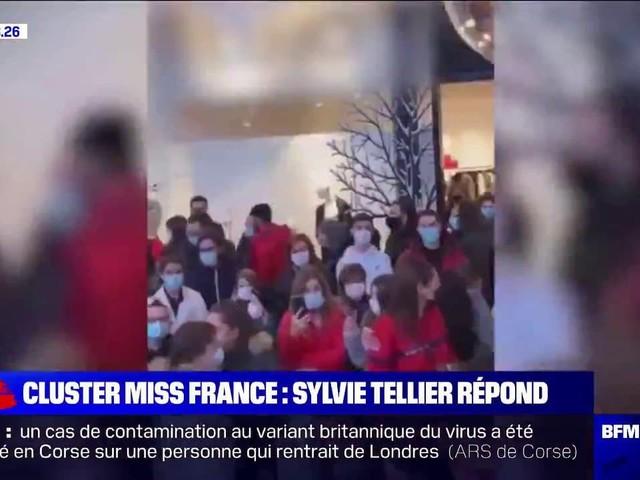 """""""Il est important de s'excuser si certaines images ont choqué"""": Sylvie Tellier réagit à l'attroupement engendré par Miss France lors d'une séance de dédicaces"""