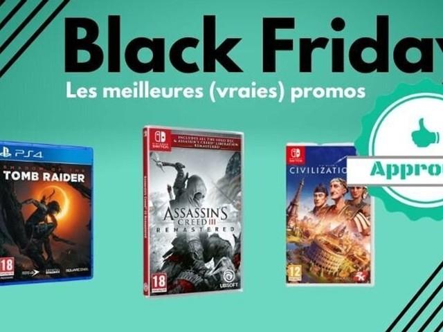 Black Friday: des jeux vidéo Switch, PS4 et Xbox pas cher pour Noël?