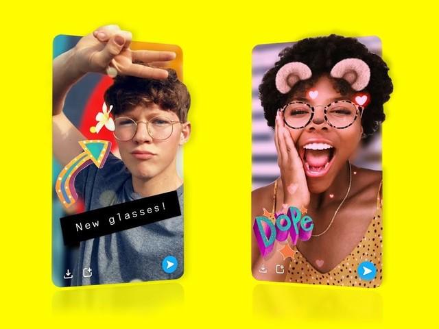 Snapchat : un mode photo 3D pour les selfies