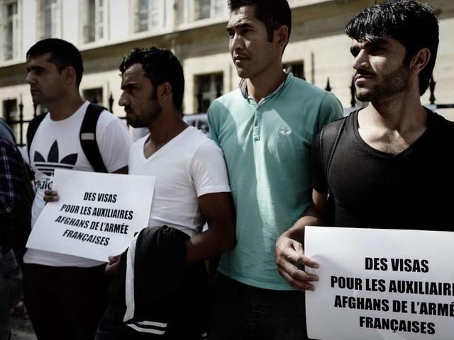 Le sort des anciens interprètes afghans de l'armée française en suspens