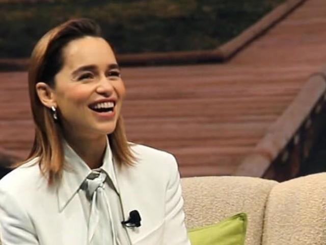 Emilia Clarke (Game of Thrones) émue : Ce cadeau inestimable offert par son frère