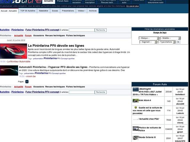 La Pininfarina PF0 dévoile ses lignes