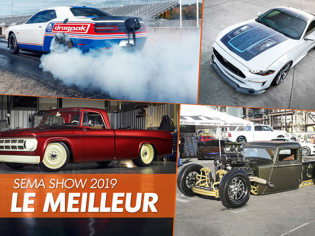 SEMA Show 2019 : le best of en images !