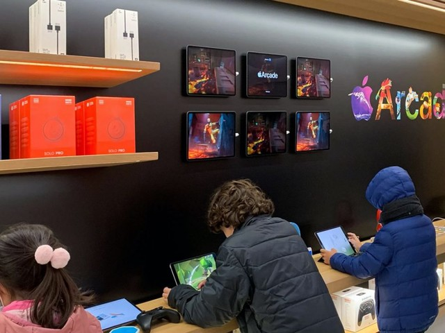 Les Apple Store mettent maintenant en avant Apple Arcade