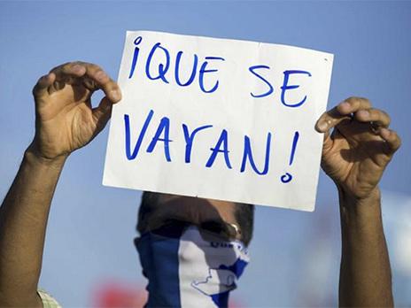 Nicaragua. «La sortie d'Ortega»