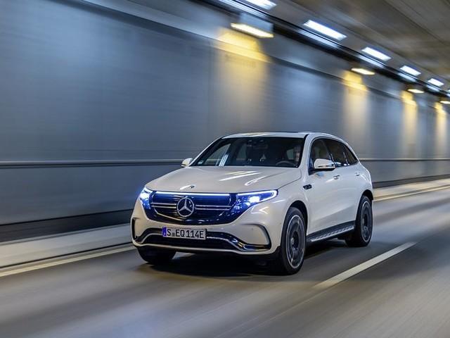 Actualité : Mercedes met à jour son SUV électrique EQC avec un nouveau chargeur plus puissant