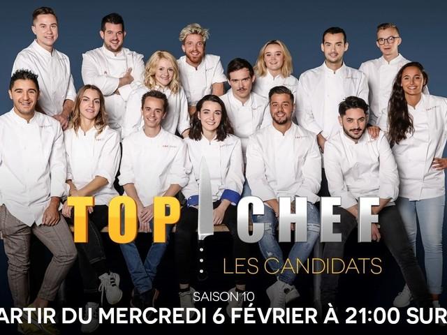Les 15 candidats et candidats de la saison 10 de Top Chef sur M6.