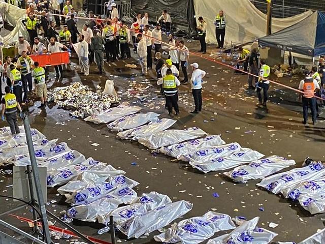 Bousculade mortelle en Israël : ce que l'on sait du drame qui a coûté la vie à 44 pèlerins