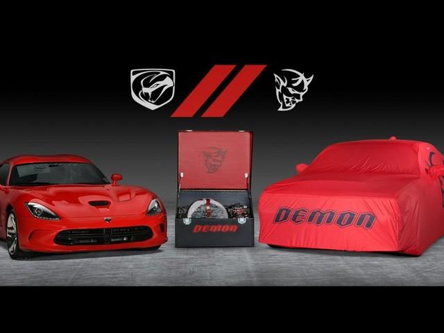 Les dernières Dodge Challenger SRT Demon et Dodge Viper mises à l'encan