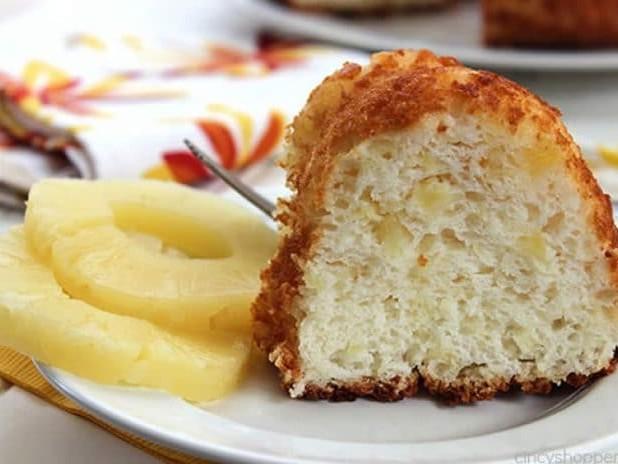 Gâteau à l'ananas moelleux au thermomix