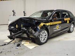 La Skoda Octavia obtient cinq étoiles aux crash-tests Euro NCAP