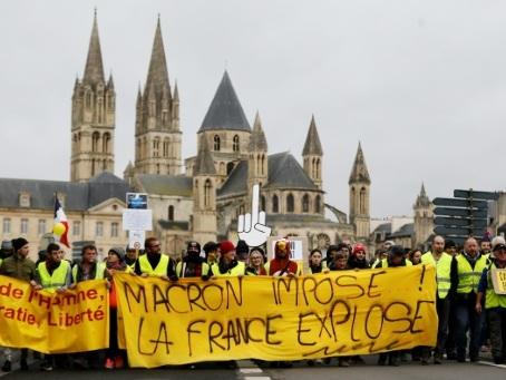 """Dixième samedi dans la rue pour les """"gilets jaunes"""""""