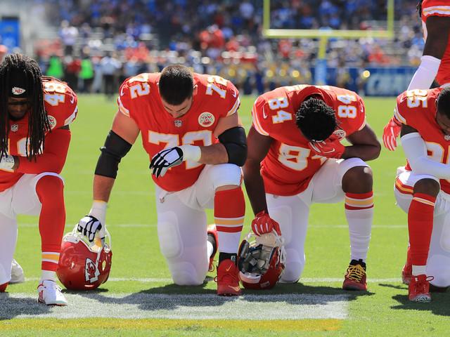 NFL: Les footballeurs américains n'ont pas eu peur de défier Trump, bien au contraire