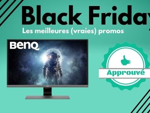 Black Friday: les meilleurs écrans PC de gamer en promos sur Amazon, Cdiscount et Fnac/Darty
