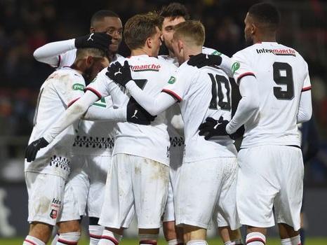 Coupe de France - Rennes en 8e et en contrôle avant d'affronter Paris en Ligue 1