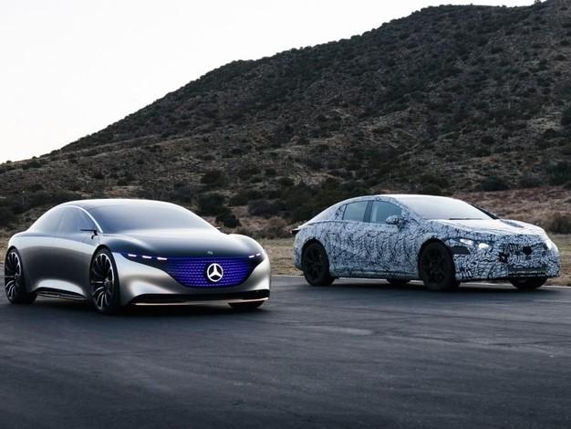 Mercedes annonce sa grande berline électrique EQS