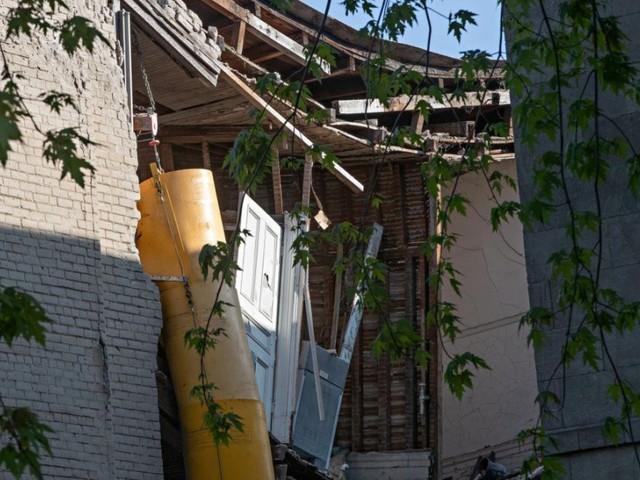 Effondrement d'un immeuble patrimonial: «Un cas extrême de négligence»