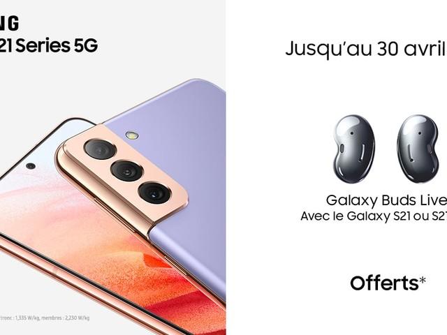 Galaxy S21 5G : Samsung vous offre une multitude de cadeaux avec le smartphone