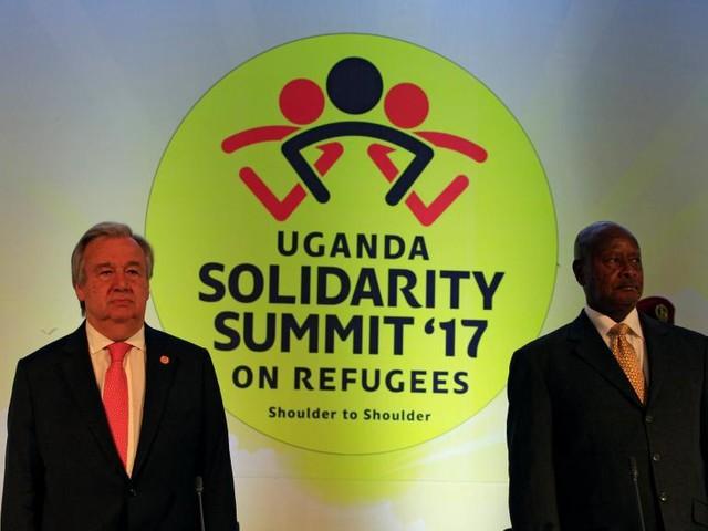 Ouganda: 358 millions de dollars promis pour aider les réfugiés