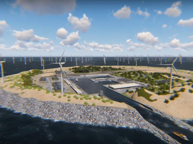 Et si l'Europe misait sur une île artificielle pour s'alimenter en électricité?