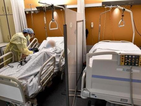 459 hospitalisations au cours des dernières 24 heures, 283 décès