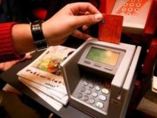 Augmentation de 13% des paiements par carte le dernier samedi avant le week-end de Noël