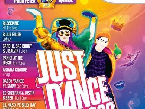 La semaine de sa sortie UK, Just Dance 2020 s'est davantage vendu sur Wii que sur PS4 et Xbox One