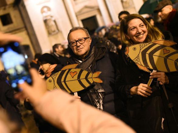 «Les Sardines sont un mouvement de protestation et pas du tout un parti politique»