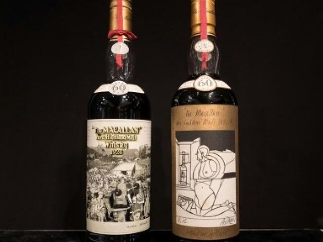 Hong Kong : deux bouteilles de whisky rares vendues un million d'euros chacune