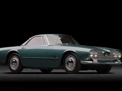 La Maserati 5000 GT célèbre son 60ème anniversaire