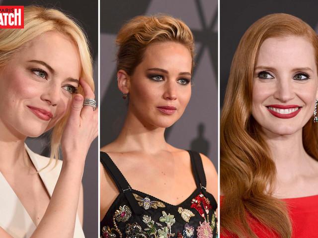 Jessica Chastain, Emma Stone et Jennifer Lawrence parlent sexisme et harcèlement sexuel à Hollywood