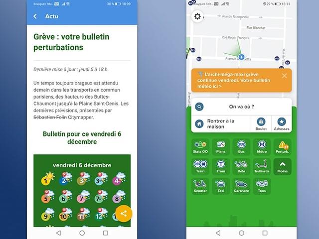 Grèves de décembre : 5 applications sur smartphone Android pour réussir à circuler