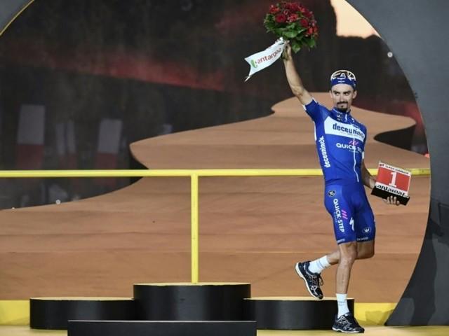 """Cyclisme: """"je suis loin d'être le favori numéro un"""", estime Alaphilippe"""